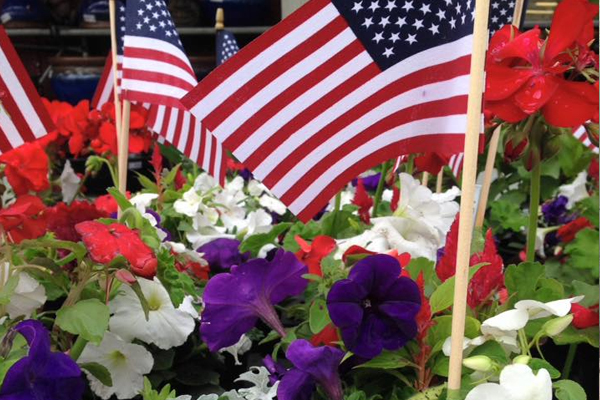 Honoring the Red, White & Blue